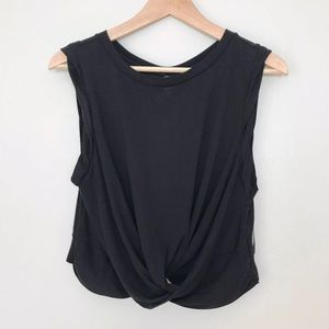 Free People Movement Undertow Tank Crop Large NWT